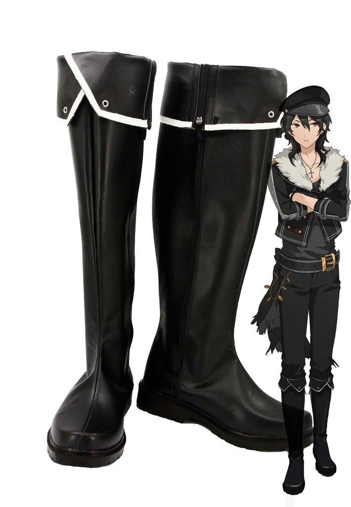 Ансамбль звезд Нежить sakuma Rei Косплэй Обувь Сапоги и ботинки для девочек индивидуальный заказ