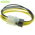 PCI-E 6Pin cabo de extensão da fonte de alimentação FONTE de ALIMENTAÇÃO de 6 Pinos Macho para fêmea cabo Para PCI express Graphics Placa de Vídeo GPU