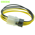 PCI-E 6Pin extension power supply cable 6 Pin Male to female PSU GPU cable For PCI express Graphics Video Card