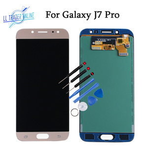 Image 1 - 5.5 Inch Display Panel Assembly For Samsung Galaxy J7 Pro J730 Touch Screen LCD Replacement With Adjust Brightness