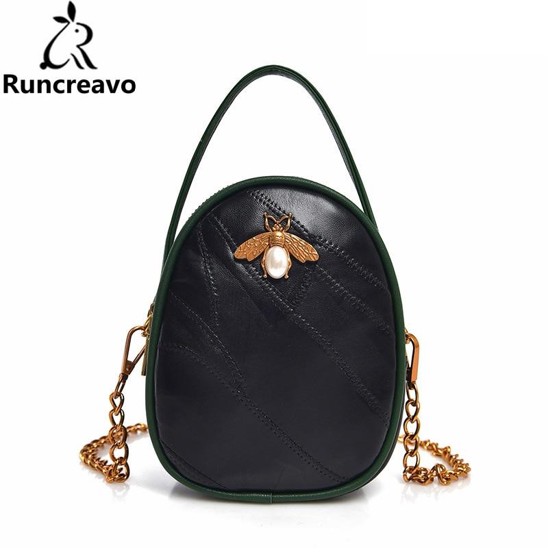 207a9690c6ee 2018 crossbody bags for women leather handbags luxury handbags women bags  designer genuine leather bee shoulder