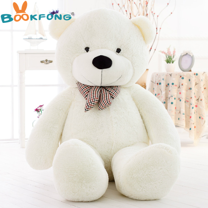 58813d70464  5 COLORS  Giant teddy bear plush toys soft stuffed hot big bear toys  brinquedos high quality children gift toys