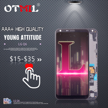 OTMIL 5.5 For LG Q6 LCD Touch Screen  Digitizer Assembly Frame Replacement M700A M700N US700 M700 Display for #1