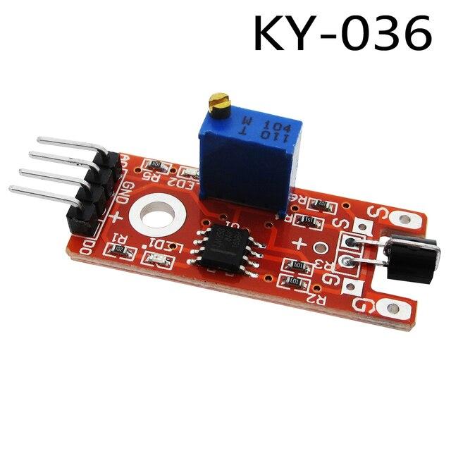 1pcs Metal touch sensor module KY-036 Human Body Touch Sensor
