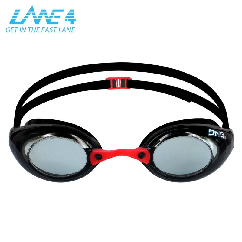 e55564e2559 LANE4 Optical Swimming Goggles AQUACRISTAL with 3 Nose PiecesCorrective Anti -fog UV Protection Racing for Adults  72995