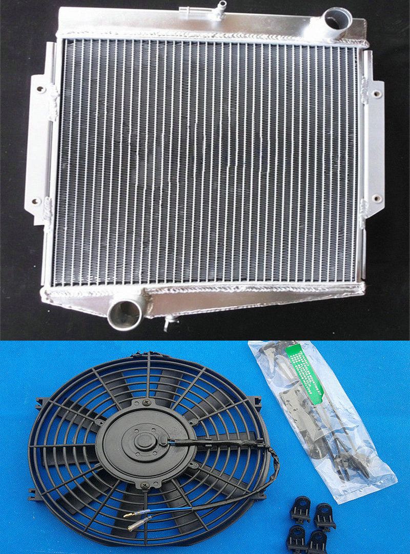 FOR DATSUN SPORTS//FAIRLADY 1500//1600//2000 ROADSTER 1963-1970 Aluminum Radiator
