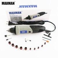 MAXMAN Profesyonel Elektrikli Mini kalıp taşlayıcı 400 w Dremel Aracı 0.6 ~ 6.5mm Chuck Değişken Hız Döner Aracı DIY Çok elektrikli El Aletleri