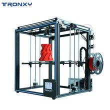 2019 Модернизированный X5SA 3d принтер DIY Kit 330*330 мм горячее крепление для бесконтактной печати датчик накаливания CoreXY 3d принтер TRONXY