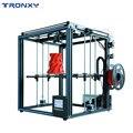 2019 actualizado X5SA 3D DIY Kit de impresora de 330*330mm semillero reanudar falla de energía de Sensor de filamento CoreXY 3d impresora TRONXY