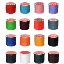 1roll Durable Waxed Thread Cotton Cord String Strap Hand Stitching Thread for Leather DIY Handicraft Tool Material Accessories