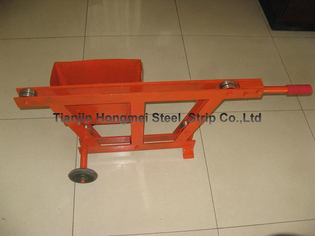Guaranteed 100% New steel strapping car / Strapping dispenser cart with cutter for steel  strapping  guaranteed 100