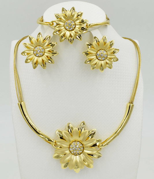 Aude-Silver-Gold-plated-Jewelry-Set