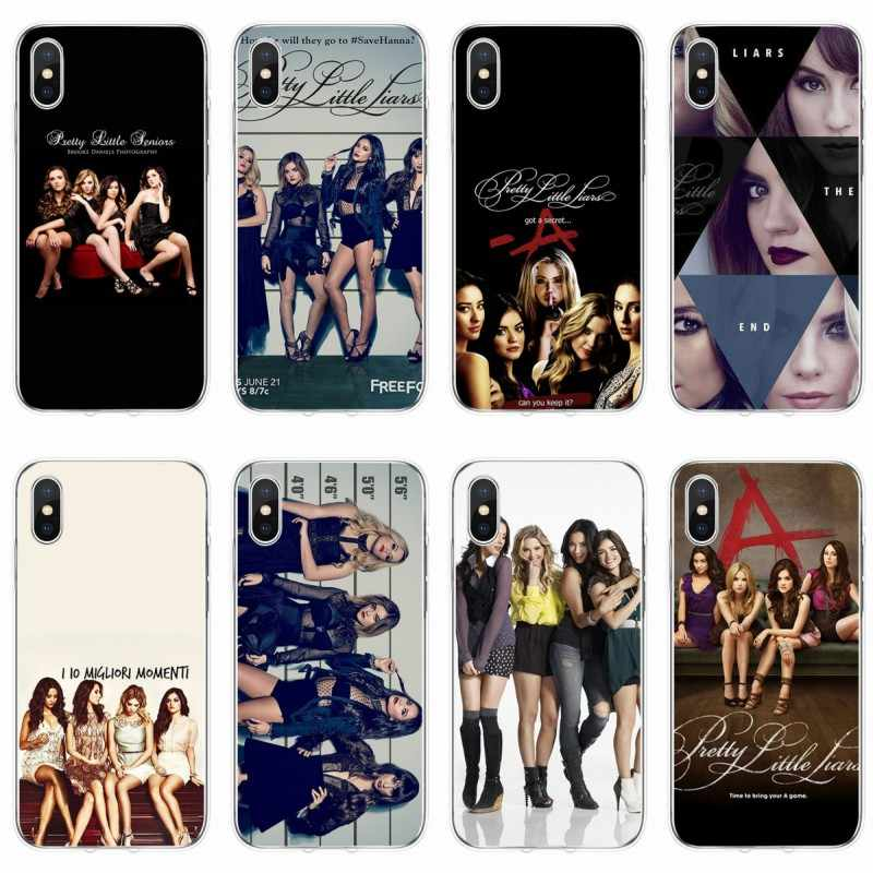 Pretty Little Liars PLL TV Show Phone Cases for iphone XS XR TPU Back Cover For iPhone XS Max high quality Silicon Cases