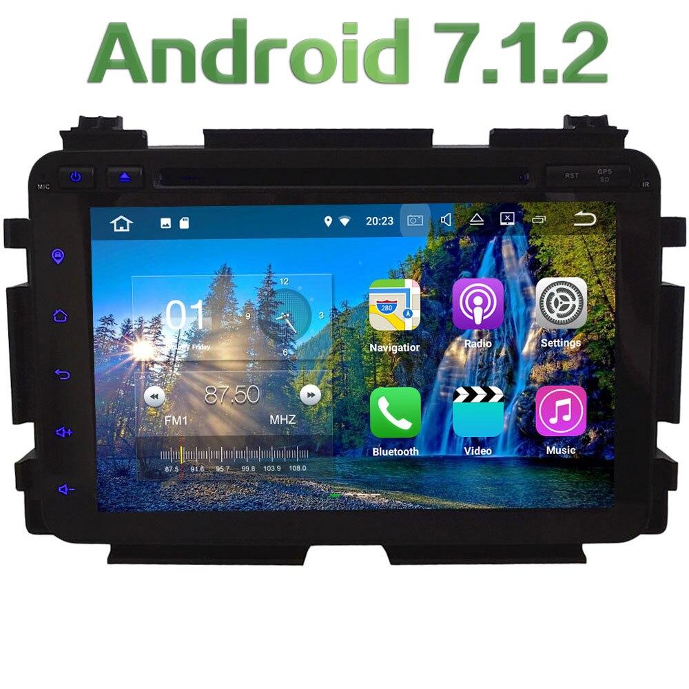 HD Android 7 1 Quad Core 2GB RAM 4G WiFi SWC BT font b Multimedia b