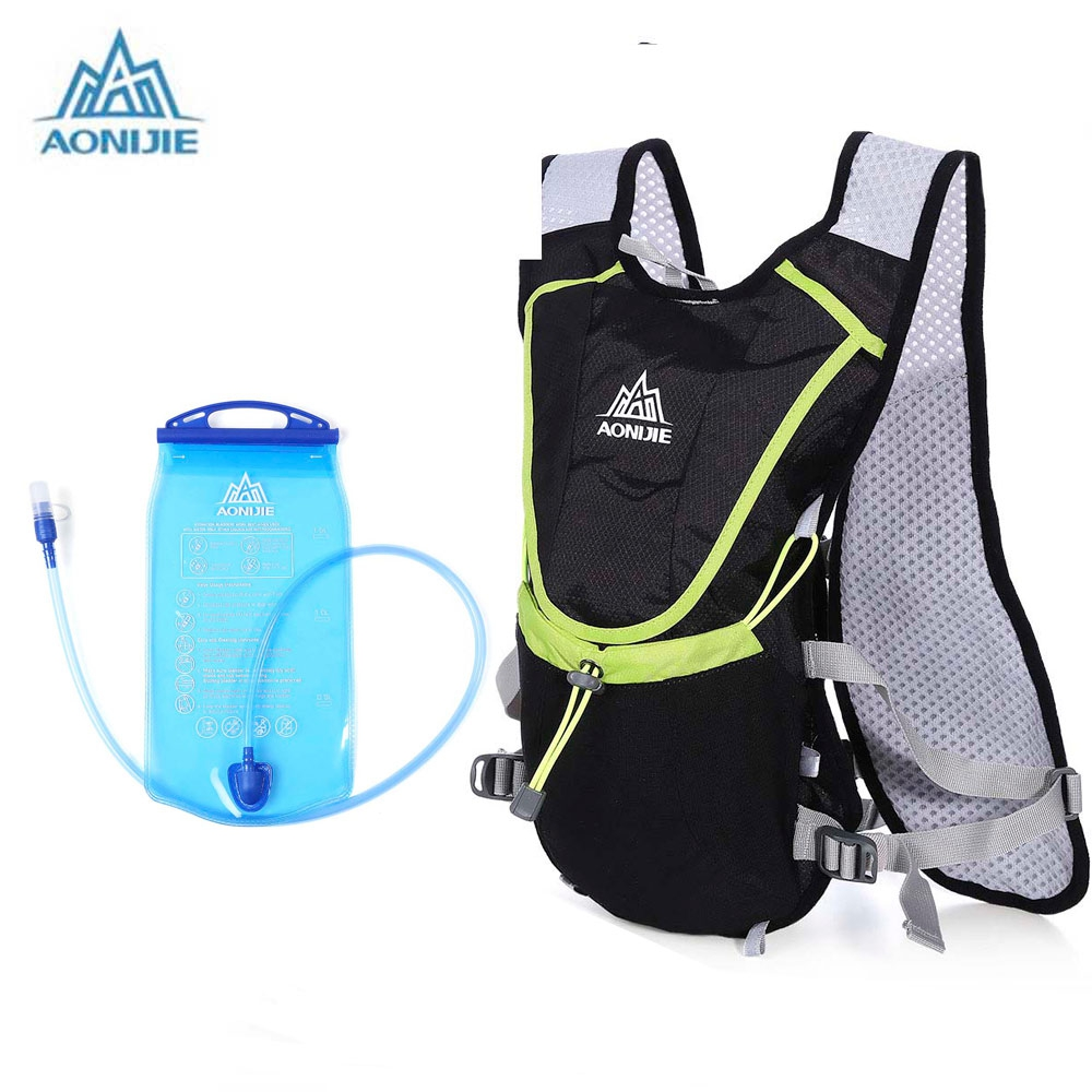 AONIJIE 1.5L Bicycle Cycling Climbing Camping Hiking Outdoor Sports Mouth Water Bladder Pack 8L Backpack Bag Hydration
