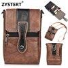 Fundas Leather Packet Hung Phone Shoulder Bag Metal Hook Coque For Huawei Honor 8 V9 7