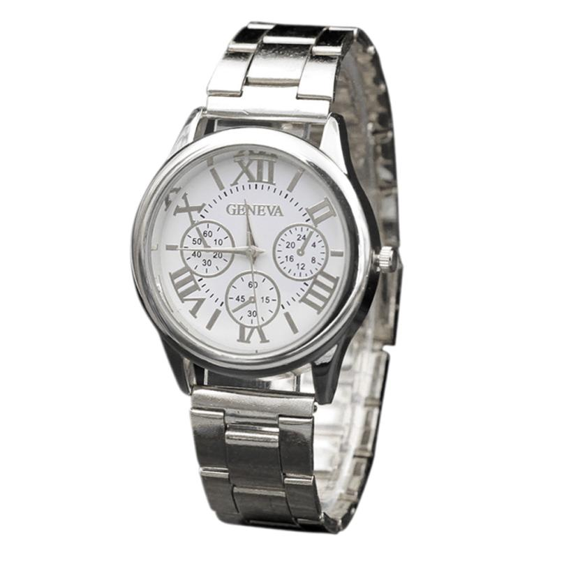 Best Sale 2018 Fashion luxury Stainless Steel Sport Quartz Hour Wrist Analog Watch woman watches 2018 brand luxury Les femmes mo