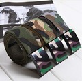 2014 Military Tactical Army Camo Belt Fashion Casual Canvas Belt Automatic Military Accessories Belts Mens