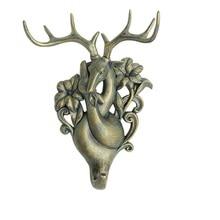 Paar Deer Wohnzimmer Dekorative haken originalität veranda individuellen charakter hängen schlüssel mantel hut rack spurlose wand gehängt