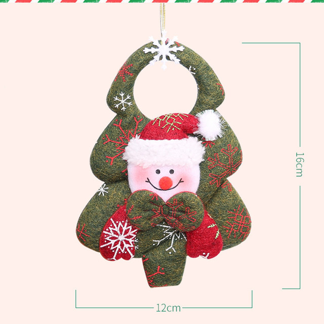 Navidad Santa Claus Pendant Christmas Ornaments Festival Party Home Decor Christmas Decor Supplies Novelty Gifts For Children 4
