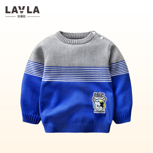 Baby Boys Sweaters Knitting Pattern Casual Boys Pullovers Spring ...