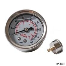 Датчик давления топлива/измеритель жидкости 0-160 psi датчик давления масла топлива метр Белый как на фото EP-GA01-ALBZ