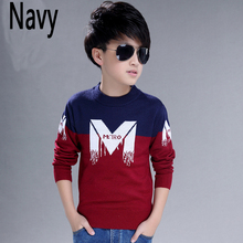 New autumn/winter youngsters's clothes sweater baby long-sleeve sweater boys sweater thickening sweater