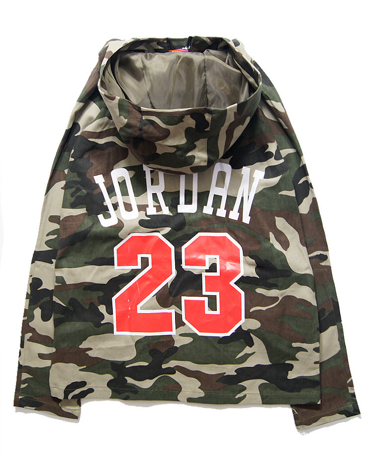 044380fd9a26 2015 Men s Brand Hip Hop Letter Jordan 23 Jacket Camouflage Varsity  Baseball Jacket Coats fashion jacket