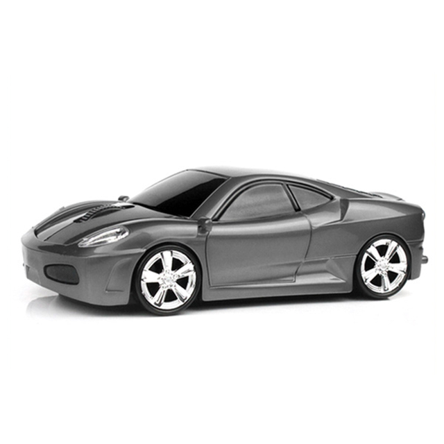 Computer Mouse Sports Car Shape Wireless Mouse 1600 DPI Optical Gaming Mouse Mice for PC Laptop