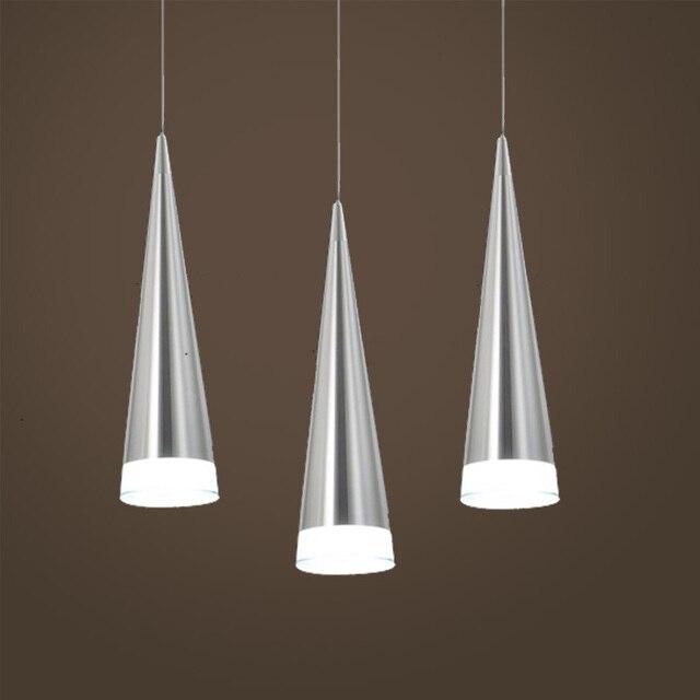 modern aluminum pendant lamp restaurant dining room suspension luminaire light fixture lamparas colgantes