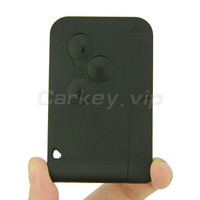 Remotekeyスマートキーカード433 mhzのためルノーメガーヌ2メガーヌii車キー2003 2004 2005 2006 2007 2008 3ボタンpcf7947リモートキー