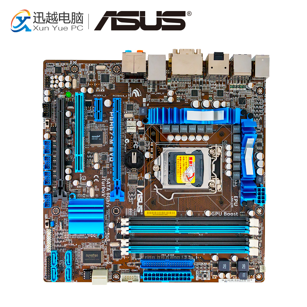 Asus P8H67-M EVO Desktop Motherboard H61 Socket LGA 1155 i3 i5 i7 DDR3 32G uATX On Sale цена