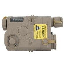 Тактический фонарь PEQ 15 чехол для аккумулятора+ зеленый лазер Черный DE FG 544 545 546
