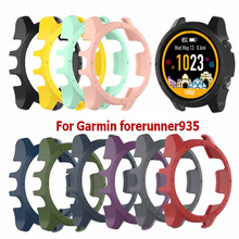 цена Silicone Protective Cover Case For Garmin forerunner 935 Watch Band Strap Bracelet for Garmin forerunner 935 Protectors Shell онлайн в 2017 году