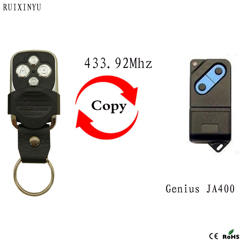Genius JA400 (Dip Switch) Universal Remote Control Garage Gate Transmitter Fob 330mhz 8 dip switch 5326 auto gate duplicate remote control
