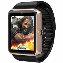 Bluetooth Часы Smart Watch Smartwatch Бренд для Apple iPhone IOS Android Телефон Умный Часы Спортивные Часы PK GT08 DZ09 F69 U