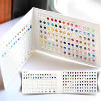 QIAO di Strass di Marca Carta di Colore Molti Colori per Hot fix/Non hotfix