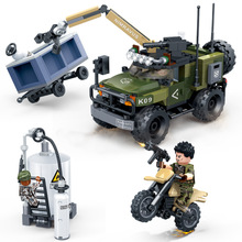 Military world war 2 army car weapon SWAT vehicles soldiers mini figure truck building blocks sets Bricks Educational Toys ww2 6pcs lot military world war ii weapon soldier ww2 swat figure set building blocks sets model bricks toys for children d71009