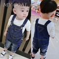 baby  denim overalls Jeans pants Spring Autumn children kids boys girls haroun pants big PP loose pants Jeans for 2-6Y