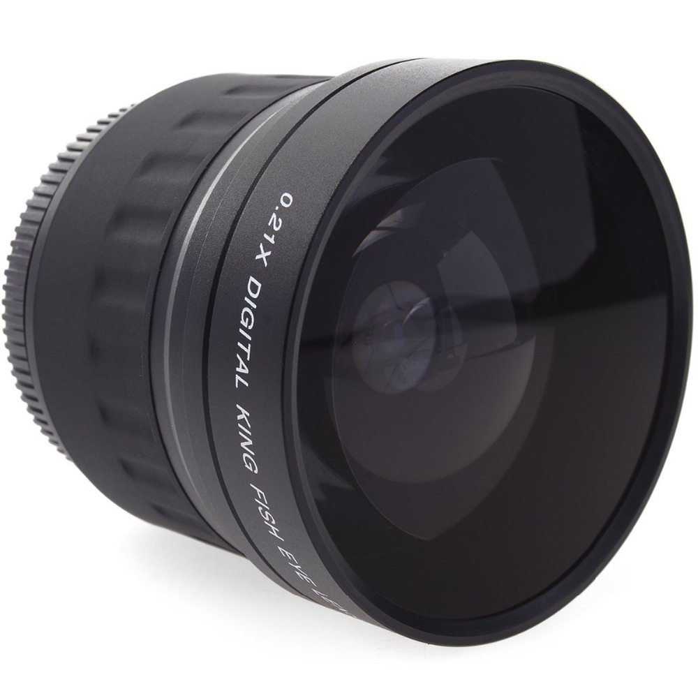 Lightdow 52mm 0.21X lente ojo de pez gran angular + bolsa para Nikon - Cámara y foto - foto 3