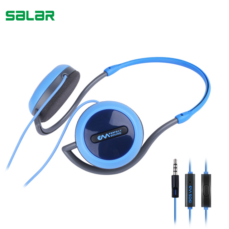 Salar EM506i New Arrival Fashion Headphones with Mic Portable Headset Sports Running Earphones for Music