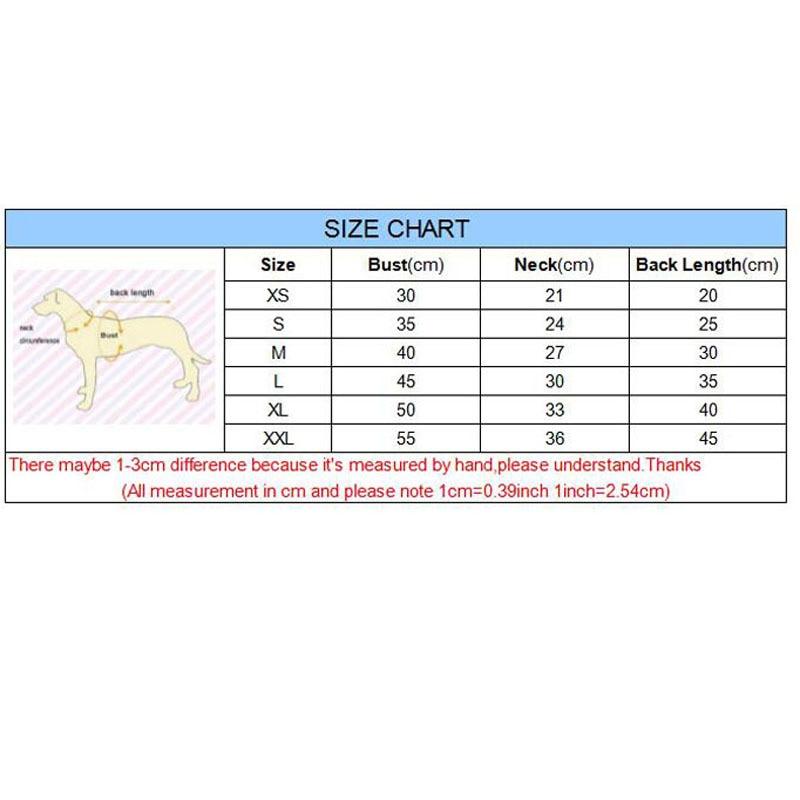 XS-2XL Ropa de Perro Cálido de Invierno Abrigo de Chaqueta de - Productos animales - foto 2