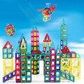 ¡ Nuevo! Mini Juego Imán Magnético Técnica de Modelos y de Construcción de Juguete De Plástico Bloques de Construcción Ladrillos Niños Aprendizaje y Juguetes Educativos