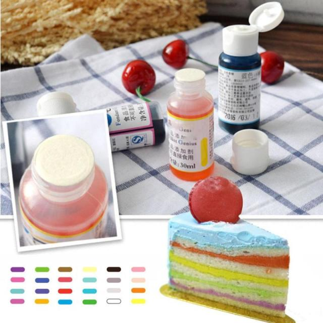 1 PC America Edible Cream Baking Pigment Food Coloring Fondant ...