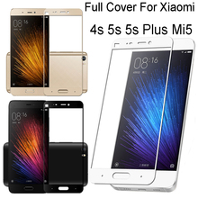 Xaomi Mi5 s Mi 5 S 5s Professional Full Cowl Tempered Glass Display Protector Xiomi 4s 4i 4c 4s M5 Glas Telephone Protecting Movie Case