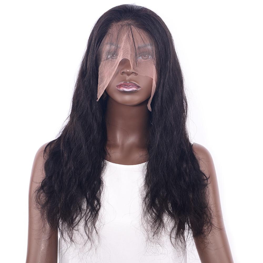 Шоколад бразильский человеческих волос на теле волна 360 кружева парик предварительно сорвал с для волос ...