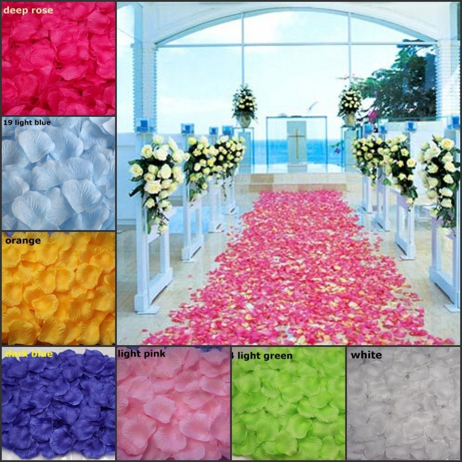 Rose petals beautiful wedding accessories 1000 pieces lotas rose petals beautiful wedding accessories 1000 pieces lotas artificiais cheap for wedding decoration flower petal in rose petals from weddings events on izmirmasajfo