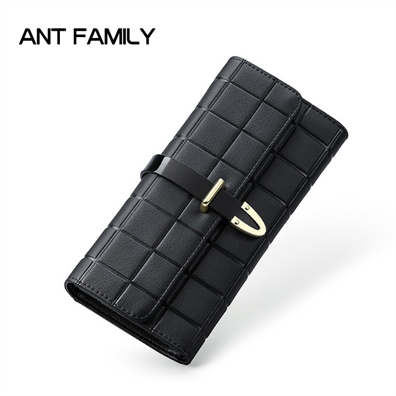 Luxury Genuine Leather Women Wallet Female Brand Long Wallet High Quality Fashion 3 Fold Purse Ladies Cowhide Wallet Card Holder designer fashion women short wallet genuine leather 2 fold cowhide soft leather ladies wallets purse unisex high quality famous