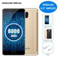 Oukitel K8000 4G Mobile Phone MTK6750T Octa Core 5.5 Inch AMOLED 4GB RAM 64GB ROM 16MP+13MP Dual Camera Android 7.0 Fingerprint