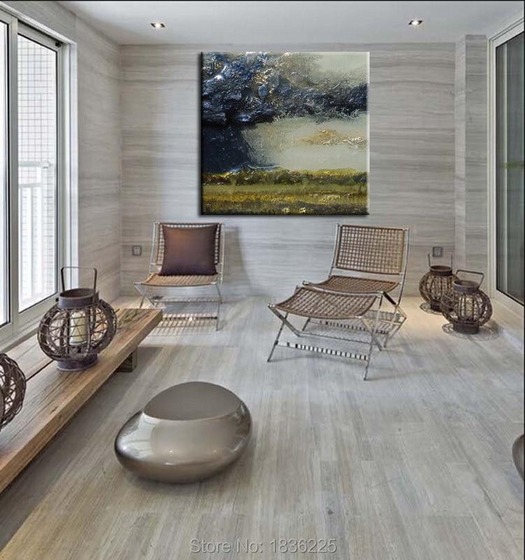f095ee9cd ديكور المنزل الجدار شنقا لوحات مناظر جميلة مجردة جدار الفن الرسم على قماش  للبيع ديكور المنزل ملصقات الحائط